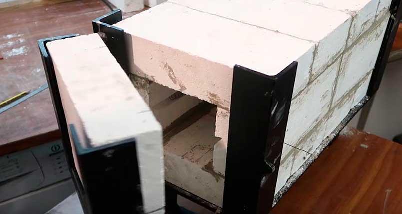 materiales refractarios para hornos de mufla y reverbero